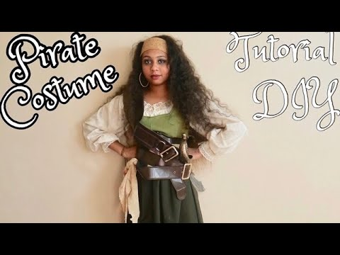 My  Halloween Costume !  PIRATE MAKEUP AND COSTUME TUTORIAL (2019) /Jassie thumbnail
