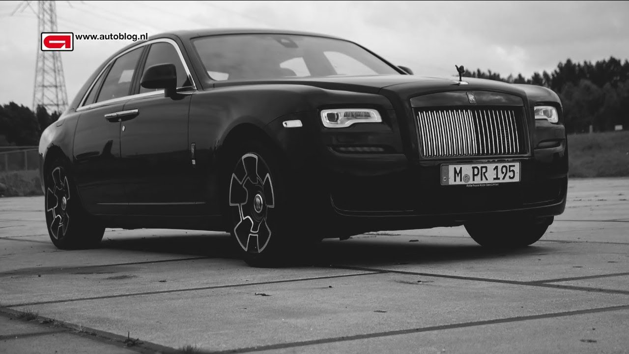 rolls royce ghost black badge review youtube