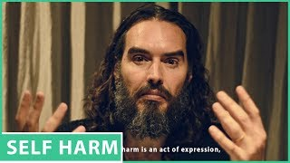 Russell Brand Opens Up About  Self Harm