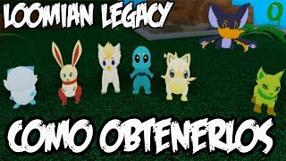 HOW TO GET YOUR FIRST LOOMIAN IN Loomian Legacy Loomian Legacy English ? Spanish roblox