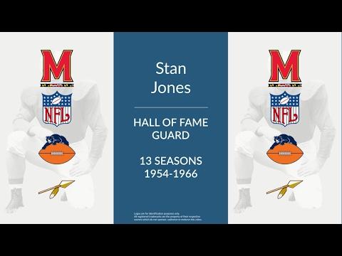 Stan Jones: Hall of Fame Football Guard and Tackle