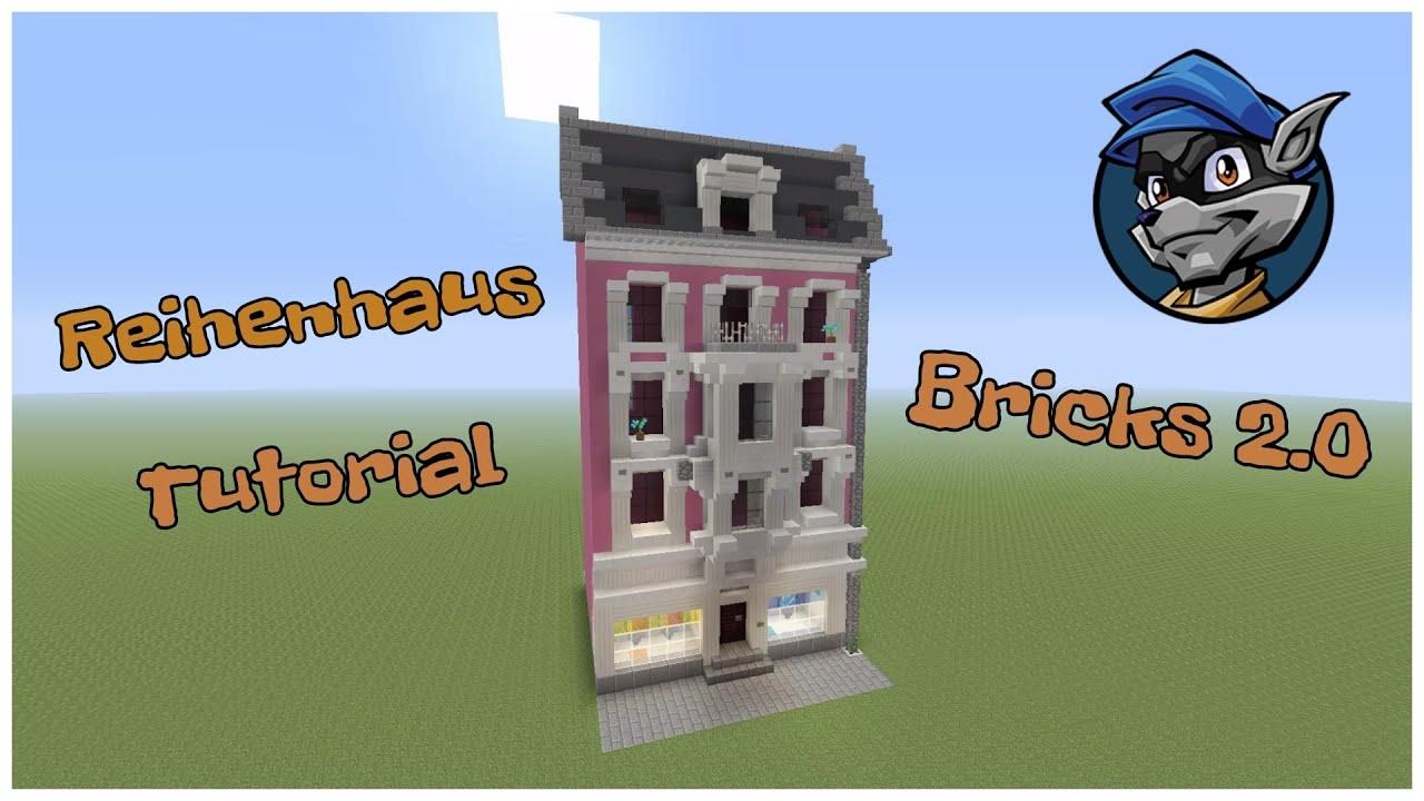 Minecraft Reihenhaus Tutorial Part 1 Youtube