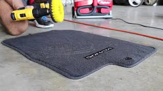 Super Clean Car Floor Mats: 4 Steps!