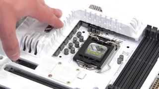 unboxing motherboard Asus SABERTOOTH Z97 MARK S