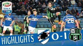 Sampdoria - Sassuolo 0-1 - Highlights - Giornata 17 - Serie A TIM 2017/18