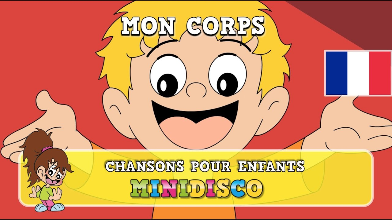 mon corps chansons pour enfants les comptines chansons danser par minidisco youtube. Black Bedroom Furniture Sets. Home Design Ideas