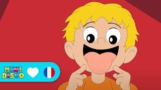 Mon Corps   Chansons pour enfants   Les comptines   Chansons à danser par Minidisco