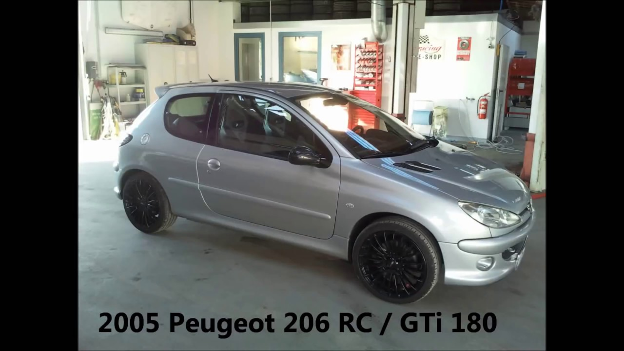 peugeot 206 rc gti 180 0 120 km h acceleration beschleunigung 0 100 0 60 0 youtube. Black Bedroom Furniture Sets. Home Design Ideas