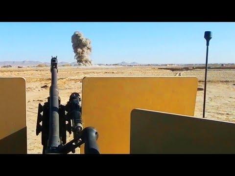 JDAM Dropped On Taliban Ambush Position With M240B
