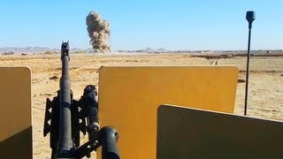 JDAM Dropped On Taliban Ambush Position With M240B