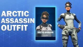 Arctic Assassin Fortnite Skin Showcase