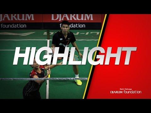 Bryan Sydney E/Dea Putri W (Tangkas Intiland) VS Rizal Muhammad/Ayu Gary L (Djarum Kudus)