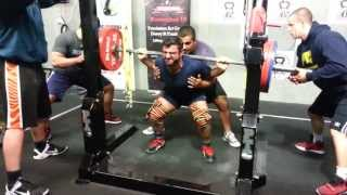 Allen Ozdil squats 215kg x 3 PTC