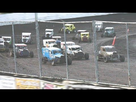 Dwarf Cars MAIN 7-15-17 Petaluma Speedway