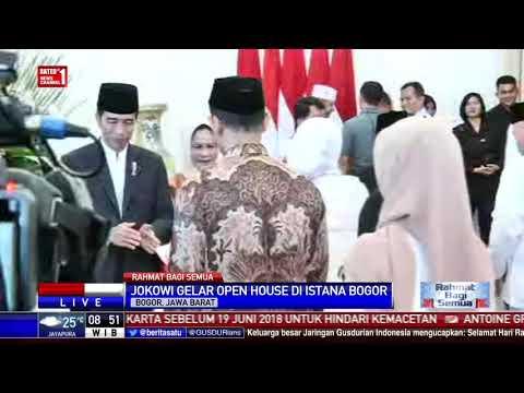 Suasana Open House Di Istana Bogor