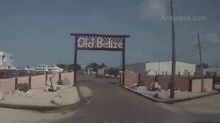 Belize city to Belmopan the Capital