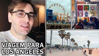 Estive em LOS ANGELES pra um EVENTO ESPECIAL! | Vlog de Viagem com BRKsEDU