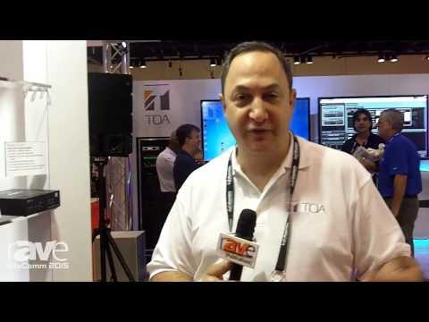 InfoComm 2015: TOA Electronics Exhibits VM-3240VA UL Voice Evacuation Amplifier