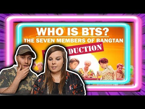 Who is BTS?: The Seven Members of Bangtan (INTRODUCTION) Reaction