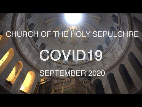 Jerusalem during COVID19 - Church of the Holy Sepulchre - CORONAVIRUS
