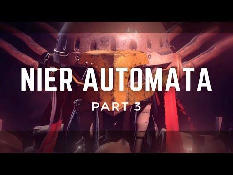 Nier Automata Playthrough Part 3 - Amusement Park