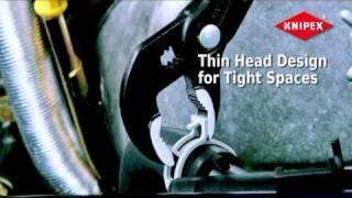 KNIPEX - сантехнический ключ COBRA(Информационное видео о сантехническом ключе - переставных клещах KNIPEX. На видео презентации показан весь..., 2010-09-02T10:58:22.000Z)