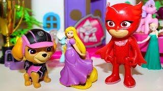 Мультики для детей Щенячий патруль Скай и Алетт ищут Сюрпризы Мультфильмы про игрушки Герои в масках