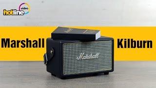 видео Marshall Kilburn 2 - акустическая система, портативная колонка Marshall Kilburn ii