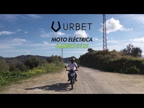 Moto Eléctrica URBET GADIRO E125 ⚡2.700€- 3.500€. Vídeo explicativo