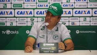 Entrevista do técnico Gilson Kleina após a vitória do Goias diante do Goianésia.