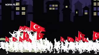 Gambar cover Blows in Turkey and 15 July (animation)