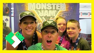 PIT PARTY AT MONSTER JAM WORLD FINALS (3.26.15 - Day 1091) | Clintus.tv