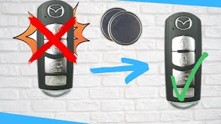 Mazda Key Fob Battery Replacement. How to Replace a battery on Mazda Fob