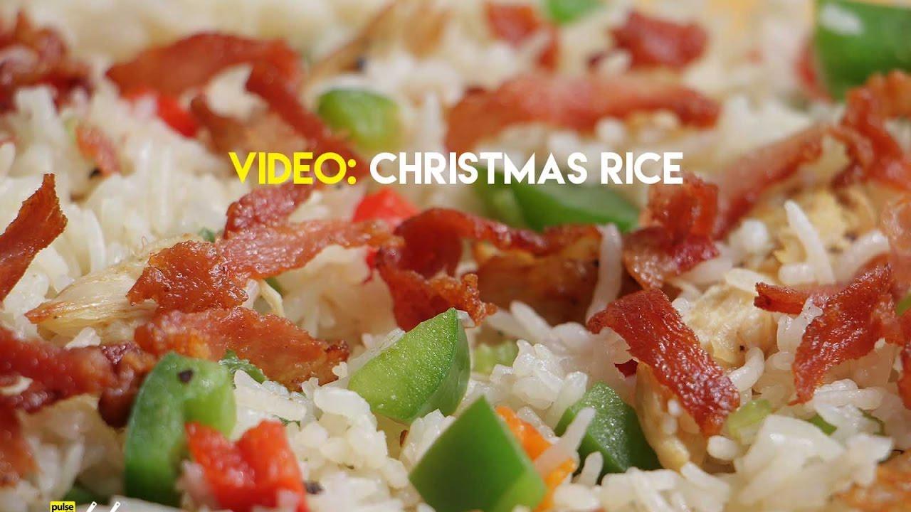christmas rice recipe - Christmas Rice