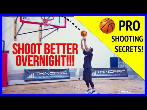 How to - INCREASE Your Basketball SHOOTING PERCENTAGE Overnight! (Pro Basketball Shooting Tips)