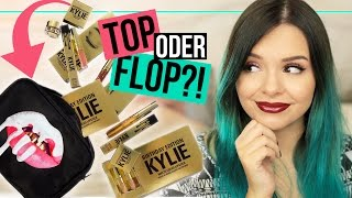 KYLIE BIRTHDAY KIT - TOP oder FLOP?! - Swatches, Review & Makeup Look!