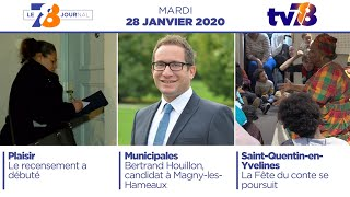 7/8 Le Journal. Edition du mardi 28 janvier 2020