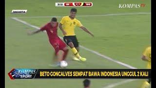 Timnas Indonesia Menyerah 2-3 Dari Malaysia
