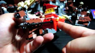 Lego Father Christmas With Sled 40010 Polybag Set Review