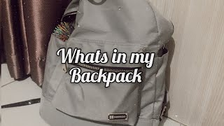 Whats in my school backpack •| Indonesia