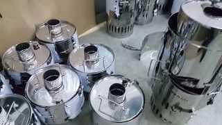 Печь для мобильной бани Мобиба КЦ-1(Новая компактная парогенерирующая печь для мобильных бань Мобиба. В ней сконцентрированы наши новые изобр..., 2015-11-20T20:02:58.000Z)