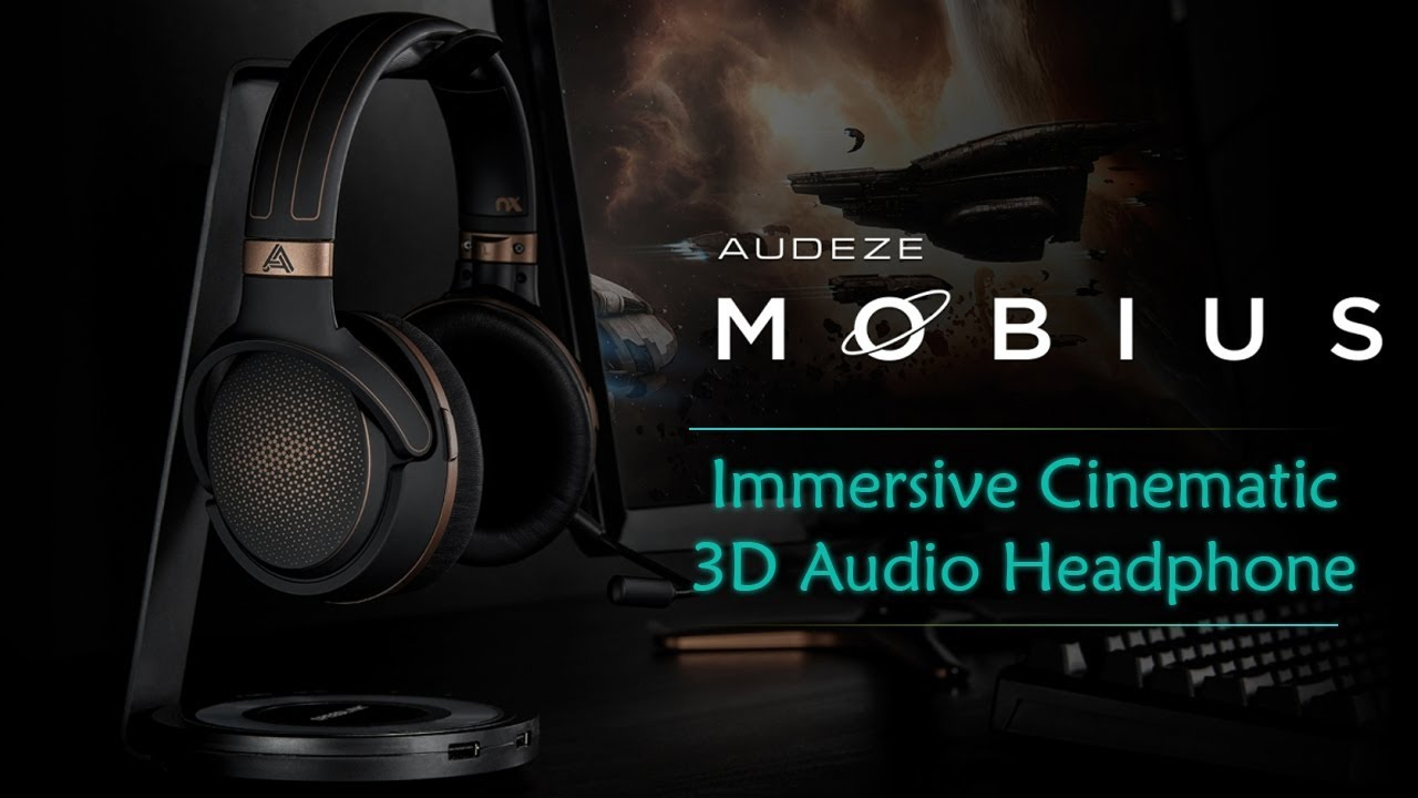 9f7216cdcd6 Audeze Mobius - Wireless 3D Audio Headphone | Maximize Your VR ...