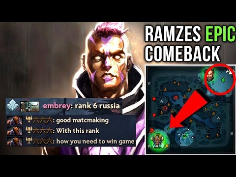VP.Ramzes Unbelievable Anti-Mage Comeback with Trashtalkers - Dota 2