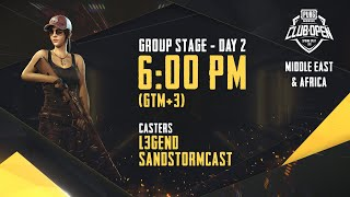 [Arabic] PMCO ME&AF Group Stage Day 2 | Spring Split | PUBG MOBILE CLUB OPEN 2020