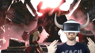 FACE THE MINOTAUR IN VR!   Theseus - Playstation VR gameplay