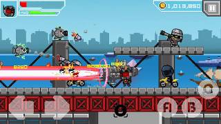 "Hero-X android game. ""Last boss Hard mode"""