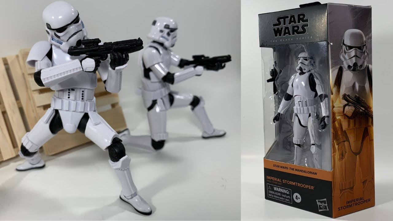 Star Wars Black Series Imperial Stormtrooper Action Figure Review Youtube