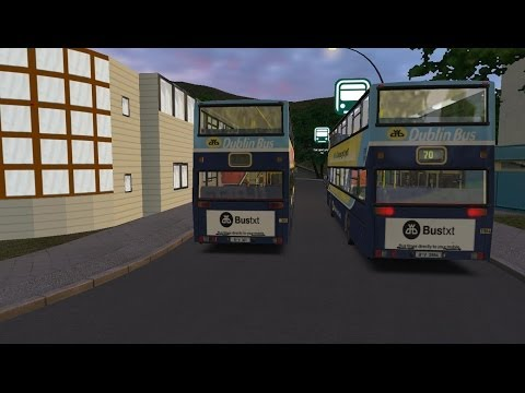 Omsi The Bus Simulator Great Grundorf2 Dublin Bus Route 70-Wah Fu Estate