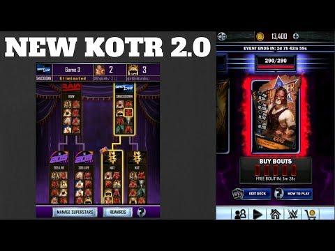 KANE RTG FINALE + KOTR 2.0 !!!  WWE Supercard #247 (Season 3)