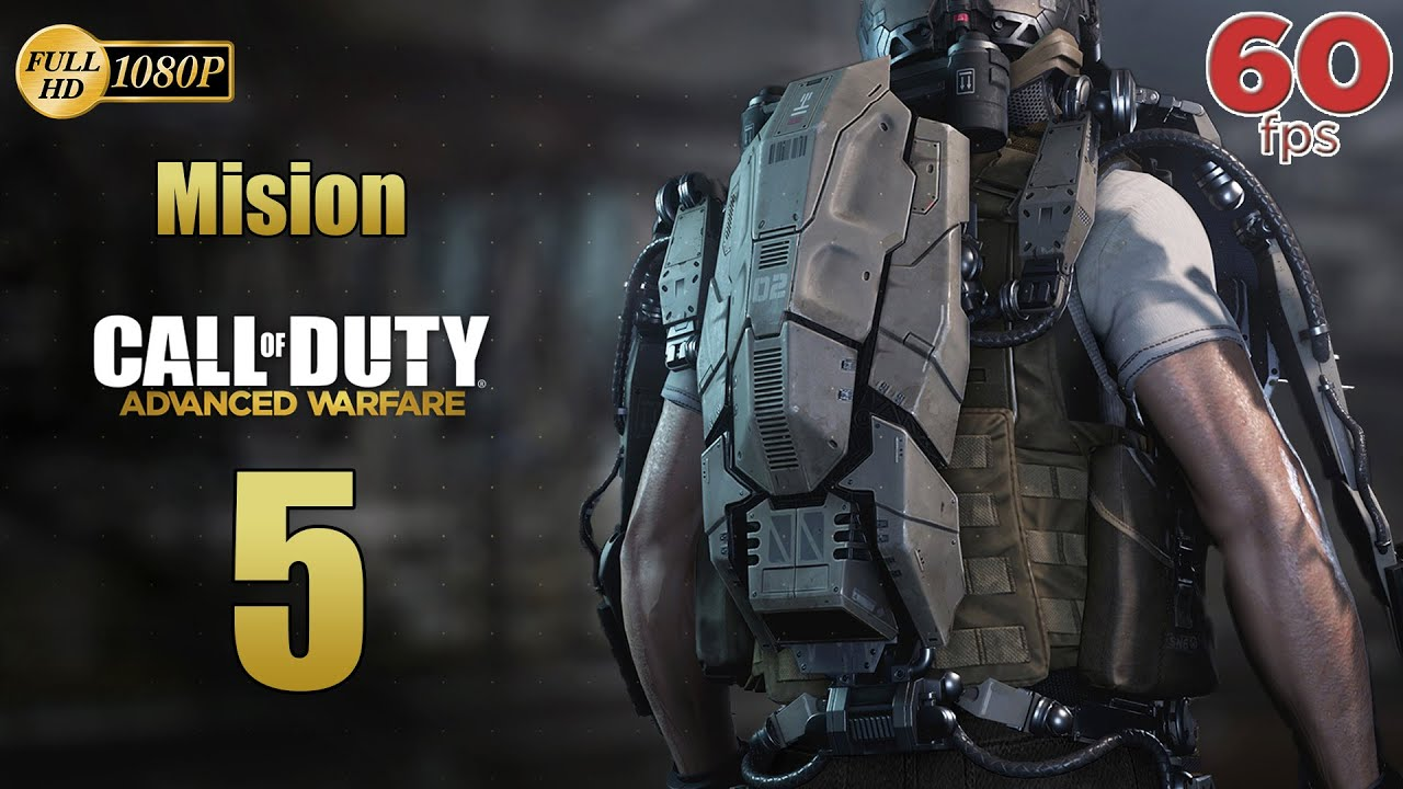 Call of Duty Advanced Warfare Mision 5 Repercusiones | Español Gameplay PC PS4 XboxOne 60 fps 1080p